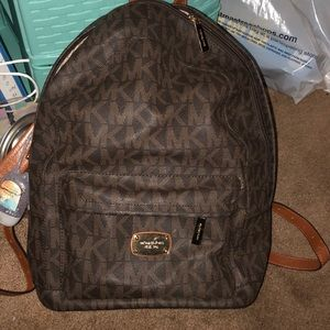 Michael kors backpack authentic